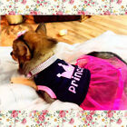 Dog Cat Dress Tutu Skirt Girl Shirt Clothes Outfit for Chihuahua Yorkie Maltese