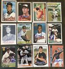 Various Baltimore Orioles Signed Cards M-Z YOU PICK Autographs Free Ship on Ebay