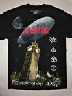 LED ZEPPELIN T-Shirt RARE Embroidered Logo Jimmy Page IV Robert Plant Rock image