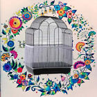 1pc Seed Catcher Guard Mesh Bird Cage Tidy Cover Skirt Traps Block Dust S/m/l