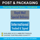 Royal Mail Special Delivery / International Tracked & Signed - Postal Sticker