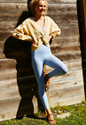 NEW Free People Movement High-Rise 7/8 Good Karma Leggings in Blue XS/S 98