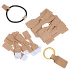 50/100Pcs Quadrate Blank Price Tags Necklace Ring Jewelry Labels Paper Stick wp