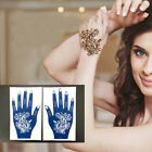 India Henna Temporary Tattoo Stencils Kit for Hand Arm Body Art Airbrush Decal