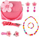 Mibasies Dress Up Jewelry for Little Girls Pretend Play Kids Purse photo