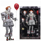 NECA Stephen King's It the Clown Pennywise PVC Horror Action Figure Model Toys-