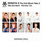 MONSTA X 2nd Album Take 2 We Are Here Official Photocard Shownu KPOP K-POP