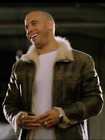Vin Diesel Triple X Distressed Lederjacke Dominic Toretto Celebrity Jacken Black