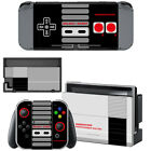 Nintendo Normal Switch or Lite Joy-Con Skin NES Retro Vinyl Decal Stickers Cover