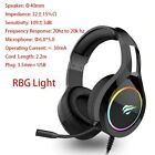 HAVIT Wired Gaming Headset Headphones PC PS4 Laptop 3.5mm Stereo Mic Over Ear