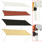 Awning Canopy Outdoor Patio Garden Sun Shade Retractable Shelter Pull up Manual