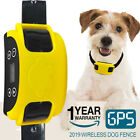 2019 Wireless Dog Fence GPS Rechargeable Waterproof Pet Containment Dog Training