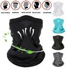 Half Face Scarf Mask Balaclava Motorcycle Cycling Neck Cover Sun Uv Protection