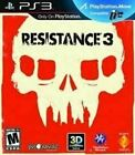 Resistance 3 - Authentic Sony Playstation 3 PS3 Game