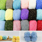 1pc 50g Yarn Ball Super Soft Cashmere Baby Natural Smooth Dot Wool Line Knitting