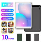 10.1 Inch 4g Android 9.0 Tablet Pc 8+128g Octa Core Camera Wifi Gps Dual Sim Tab