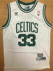 Throwback #33 Larry Bird Men's Stitched Jersey Boston Celtics Color WHITE on eBay