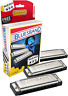 More images of Hohner Bluesband Harmonica Set of 3 - keys of C, G and A - Value Pack
