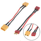 XT60/T plug to Male XT60/T Connector Adapter 14AWG 30MM Extension Cable T_TI