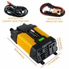 6000W Solar Car Power Inverter 12V DC to 110V AC Car Power Converter Transformer