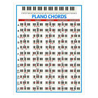 Piano Chords Poster Piano Learning Instruction for New Beginners Large/Small