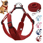 Reflective Step-in Dog Harness and Lead Safety Pet Walking Vest Schnauzer Boxer