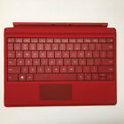 Original Microsoft Surface 3 Model 1654 Type Cover Keyboard - Black/Red/Purple