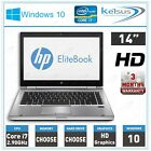 "Hp Elitebook 8470p 14"" Laptop Core I7-3520m 2.90ghz 8gb Ram 1tb Hdd Windows 10"