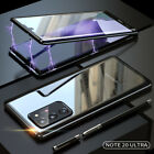 For Samsung Note20 / 20 Ultra Metal Magnetic 360° Full Tempered Glass Case Cover