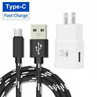 Lightning /Type-C /Micro-USB Fast Charger Charging Cable Wall Adapter 3FT/ 6.5FT
