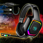 RGB LED Ergonomic Gaming Headset Stereo Sound Headphone for PS5/Xbox ONE/Laptop