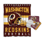 Washington Redskins 4PCS Bathroom Rugs Shower Curtain Bath Mat Toilet Lid Cover