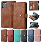 Pu Leather Case Card Slot Cover Wallet Foriphone 12 11 Pro Max Xs Xr 8 7 6 Plus