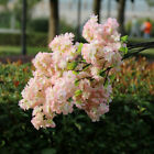 Artificial Cherry Blossom Branch Flower Fake Plant Wedding Party Wall Decor