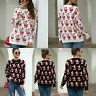 Knitted Knit Shirt Tops Jumper Womens Sweater Winter Pullover Warm Christmas