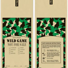 2 LB WILD GAME CAMO MEAT BAGS