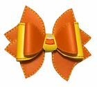 Vinyl Candy Corn Hair Bow
