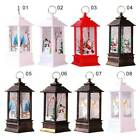 Christmas Lantern LED Lights Candle Vintage Outdoor Garden XMAS Tree Decor Gifts
