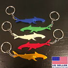 Shark Bottle Opener Keychain Shaped Smooth Colorful Aluminum Beer Soda Cool Gift