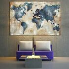 Vintage+World+Map+Canvas+Wall+Art+Poster+Indoor+Decoration+Free+Shipping