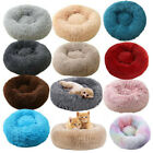 Dog Cat Pet Calming Bed Large Mat Comfy Puppy Washable Fluffy Plush Cushion Beds