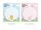 Kakaofriends littlefriends-shaped Sticky Notes Memo Ryan Apeach [2 Options]