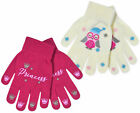 Girls Magic Gloves Winter Princess Owl Warm Christmas Gloves New Kids One Size