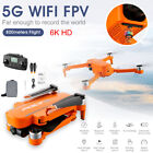 Drone for with 6K Live Camera 2.4G Remote Control Foldable Drone 5G WiFi GPS