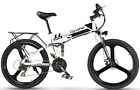 Electric Shimano Mountain Bike Bicycle 26inch 400W 36V Aluminum Fold eBike <br/> 3 Riding Modes, 5 Power Levels, Multiple Colors