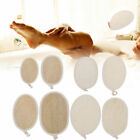 4psc Plant Loofah Shower Pad For Body Cleaning Shower Sponge Dirt Rubbing Tool