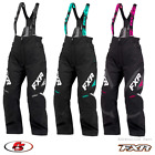 New 2021 FXR Women's Adrenaline Snowmobile Pant Bib Black/Mint/White 4 6 12 18