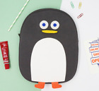 "Brunch Brother Cute Penguin iPad Sleeve Case Bag Pouch 11"" Black Gray"