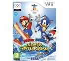 Mario & Sonic at the Olympic Winter Games Nintendo Wii PAL COMPLETE Manual INC