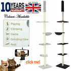 Large 5 levels Cat Tree Scratching Post Kitten Climbing Tower Activity Centre UK